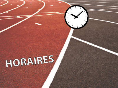 Horaire 1er tour interclubs 2016